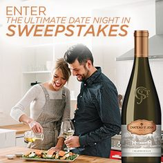I just entered the Chateau St. Jean Date Night In Sweepstakes. Click here to enter for your chance to win! See official rules for details.