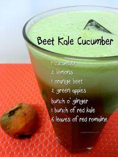 Beet Kale Cucumber Juice...