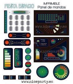 Imprimible panel-de-mandos