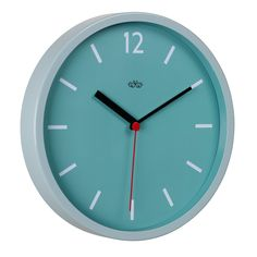 Image of Blue Round Wall Clock