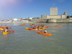 #Sport #Nautisme #Kayak #Fouras #Fort Vauban #RochefortOcean Charente Maritime Poitou Charentes
