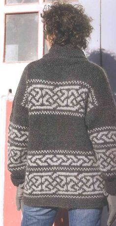 Ravelry: Northwest Celtic pattern by Cheryl Oberle Celtic Patterns, Celtic Designs, Knitting Patterns, Crochet Patterns, Sweater Patterns, Knitting Yarn, Hand Knitting, Knitting Projects, Crochet Projects