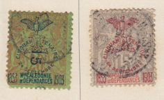 used french postage stamps | Blogart: French Colonial Postage Stamps-Early New Caledonia Issues