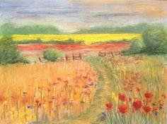 Sommer - Pastell (30x40) cm  Jens-Uwe Friedrich