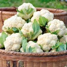 Cauiflower-It's not green, but it is bursting with antioxidants, is high in fiber, and contains allicin, a component of garlic shown to help lower the risk of heart attacks and reduce cholesterol.