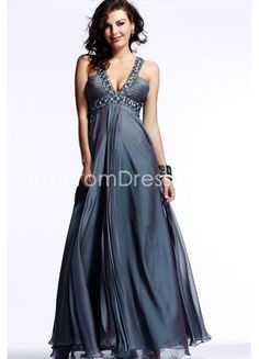 92e022ca522f Bewitching Chiffon Column Evening Gown with Shinning Crystals, Quality  Unique Evening Dresses