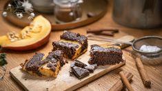 Dýně je asi nejvýraznějším symbolem pozdního podzimu – amůže za to nejen prastarý irský křesťanský svátek Halloween. Spojte její sladkou vůni saromatickým kořením, kakaem ačokoládou! Brownies, Halloween, Cake Brownies, Spooky Halloween