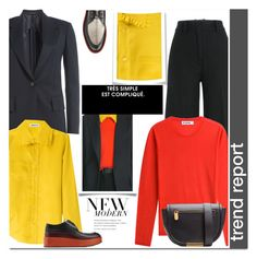 """on trend"" by drn57 ❤ liked on Polyvore featuring moda, Jil Sander y Marc by Marc Jacobs"