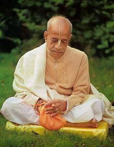 Shrila Prabhupada also known as A.C. Bhaktivedantaswami.(1896-1977). His remarkable achievement was the transformation of the most materialistic youth of the times, literally in thousands, into the most godly personalities with the loftiest of spiritual & ethical ideals. He has left a large legacy for the purpose of devotional service to Krishna thro. the International Krishna Consciousness Movement.