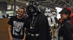 Darth Vader and company at the Dutch Comic Con 2015. Photo by Michael Minneboo