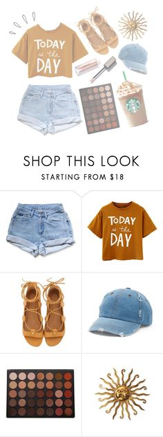 """Burnt Orange"" by fiona137 ❤ liked on Polyvore featuring Levi's, Isabel Marant, Mudd, Old Navy, Morphe, cute, simple, polyvoreoutfit and polyvoreset"