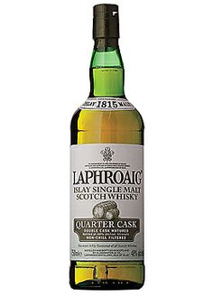Laphroaig Quarter Cask - I've been told to try this at least once, so here it is on the list.  Someday.