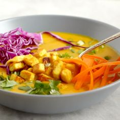 Coconut Curry Soup -