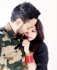 Image may contain: 2 people Army Love Photography, Military Couple Photography, Motion Photography, Army Love Quotes, Army Couple Pictures, Couple Photos, Indian Army Special Forces, Military Couples, Muslim Couples