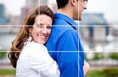Photo of Couple - Image Divided into Thirds