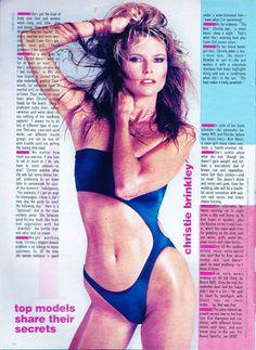 Kim Alexis Si 1985 80 S Bathing Suit Models