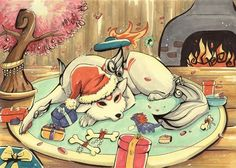 An Amaterasu Christmas
