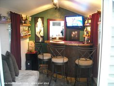 Marilyn's, Pub Shed from Colorado USA #shedoftheyear Readersheds.co.uk