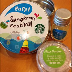 Small little cute gift for a fun Songran festival (water splash festival) in Thailand.