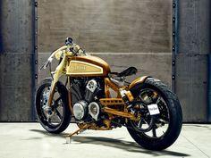 Så här ska en Yamaha XV950 se ut - I alla fall enligt Matt Black Custom Designs | Tjock / Garaget