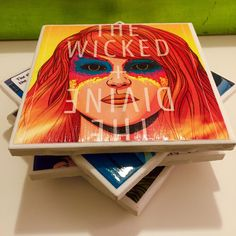 The Wicked + The Divine Comic Book Coasters by KellsComicCoasters on Etsy https://www.etsy.com/listing/242539567/the-wicked-the-divine-comic-book