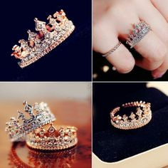 Check this ruby flower engagement ring set from Camellia Jewelry. Scrupulously handmade in fine detail, it is a unique white gold ring set that will show her how much you care without breaking the bank. Ring Set, Ring Verlobung, Cute Rings, Unique Rings, Pandora Jewelry, Pandora Bracelets, Cute Jewelry, Jewelry Accessories, Tiara Ring