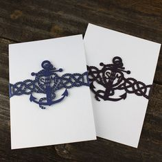 Laser Cut Wedding Invitations Nautical Themed Wedding Invitations