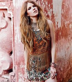 tribal ethnic bohemian fashion | Boho, #Bohemian, #Ethnic, #Aztec, #Tribal, ...