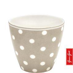 Latte Cup ~ Naomi ~ Beige | GreenGate