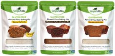 Simple Mills Almond Flour Muffin Mixes Variety Pack