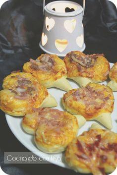 Cocinando con Kisa: Corazones de pizzas (KitchenAid)