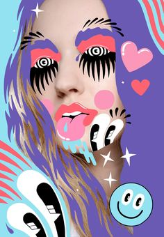 Interview: Hattie Stewart reveals her playful approach to creating super fun, bright art - Digital Arts