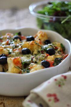 As Minhas Receitas: Bacalhau com Legumes Gratinados com Queijo da Ilha