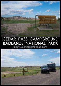 Review of Cedar Pass Campground in Badlands National Park, South Dakota