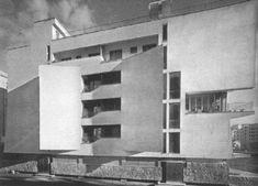 il condominio in una foto degli anni 50