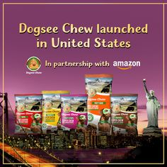 #DogseeChew Launches its 100% Natural Dog Treats in United States