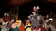 Who is ready amd not ready at the same time? #GravityFalls #Weirdmagedeon #GravityFinale