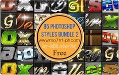 مدونة محترف فوتوشوب: 85 استايل فوتوشوب جديدة Photoshop Styles