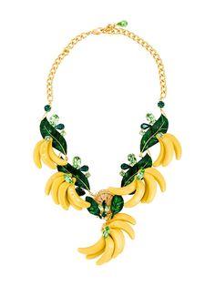 Dolce & Gabbana ожерелье с бананами