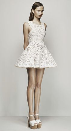 Alex Perry - White Or Candy Pink Kea Dress