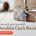 Ebates Double Cash Back Event + $100 Cash Giveaway