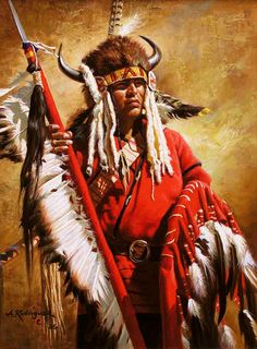 ✿ Tittle: Red Wolf ~ Artist Alfredo Rodriguez ✿