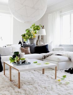 SAVED BECAUSE I LIKE A WHITE FURRY RUG #FLOKATI                                                                                                                                                                                 More