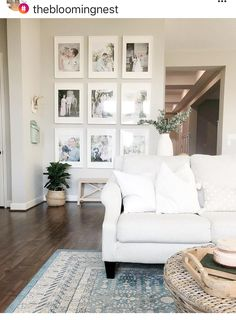 Rugs are my absolute favorite home decor item to buy! Rugs are my absolute favorite home decor item to buy! Formal Living Rooms, Home Living Room, Living Room Decor, Living Spaces, Living Room Inspiration, Home Collections, Home Decor Items, Family Room, New Homes