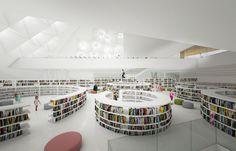 DELISABATINI architetti · VARNA LIBRARY - INTERNATIONAL ARCHITECTURE COMPETITION · Divisare