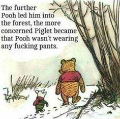 """""""Oh, Pooh Bear!"""" ."""