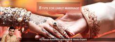जन्मकुंडली में कई ऐसे योग होते हैं जिनके अशुभ प्रभाव के कारण युवक के विवाह में विलंब हो सकता है। अगर आप अपनी शादी को ले कर परेशान हैं, तो निम्न उपाय करवाने से विवाह बाधाएँ दूर हो सकती हैं और आपको अपना जीवनसाथी मिल सकता है। शीघ्र विवाह के लिए आजमाएं यह 8 प्रभावशाली उपाय (युवक):