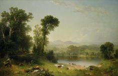 Awesome wallpaper of Wallpaper Asher Brown Durand Pastoral Landscape, resolution 1680 x type Famous Painting Artist Painter Brush Oil On Canvas Awesome, for Desktop of your PC. Beautiful wallpaper free for you! Famous Landscape Paintings, World Famous Paintings, Famous Artists, Landscape Art, Painting Wallpaper, Of Wallpaper, Painting Art, Hudson River School Paintings, National Gallery Of Art