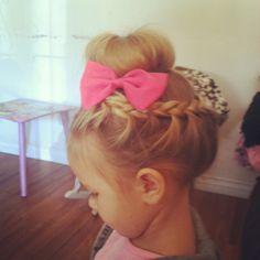 Braid buns and bows