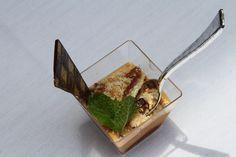 caramel dessert from The Culinary Art School in Tijuana, Mexico